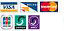 We accept all Major Credit Cards - Barclaycard, Mastercard, Amex, Switch, Eurocard, JCB, Solo, Delta
